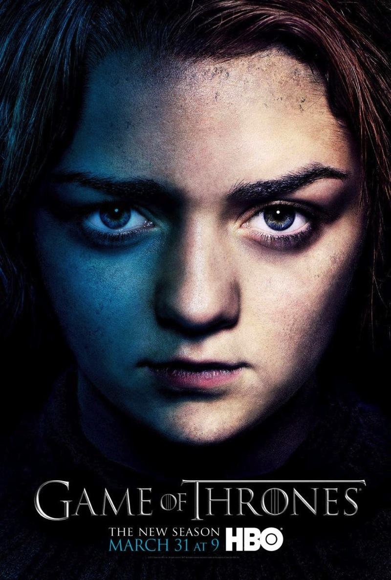 Game of Thrones Season 3 Posters arya1