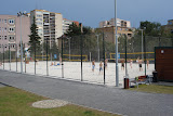 Volleyball courts at Areal Gutova