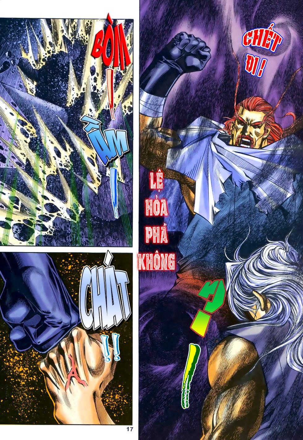 X Bạo Tộc chap 69 - Trang 17