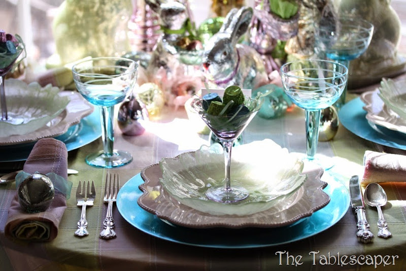 Tablescape Sparkling Easter - The Tablescaper15