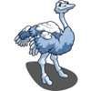 Tundra Ostrich