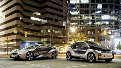 BMW i3 & BMW i8 concepts headed for NA