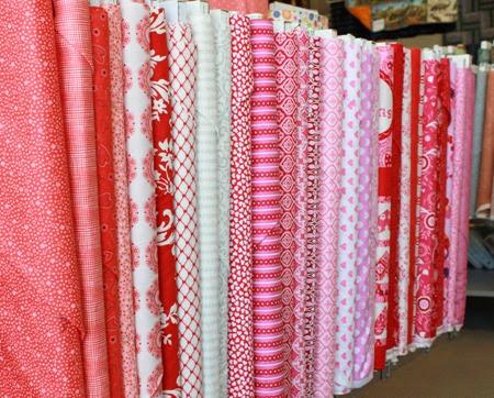 Valentines Day fabrics 2