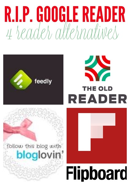 Google reader is retiring! Here are some easy ways to transport your favorite blog subscriptions to a new service