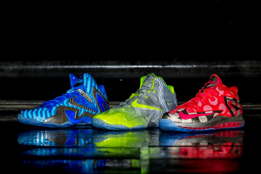 Release Reminder Nike LeBron 11 Maison Collection ...
