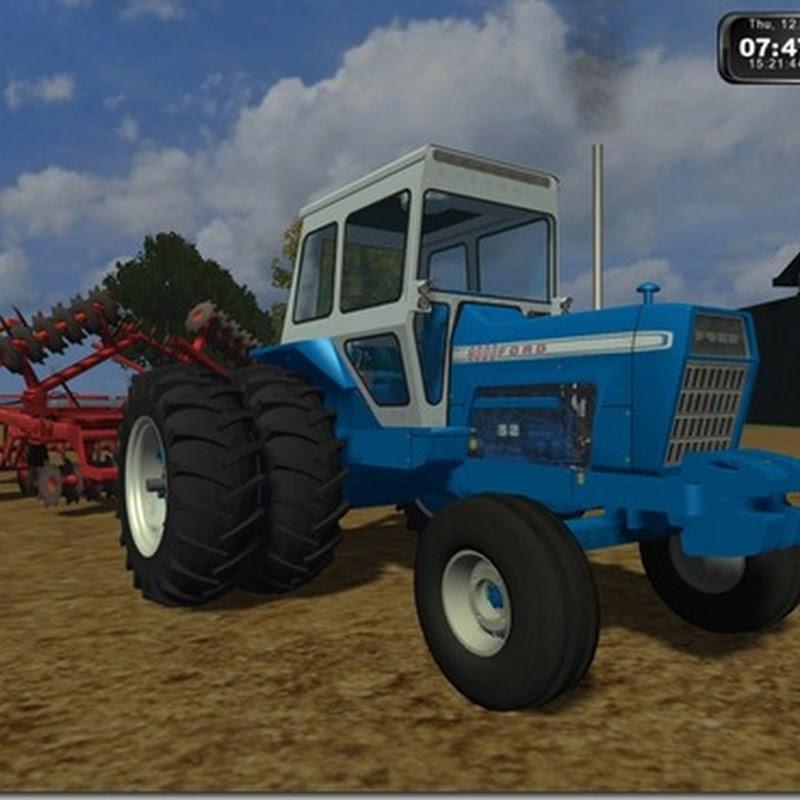 Farming simulator 2011 - 1971 Ford 8000 (Trattore)