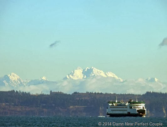 Ferry with Cascades