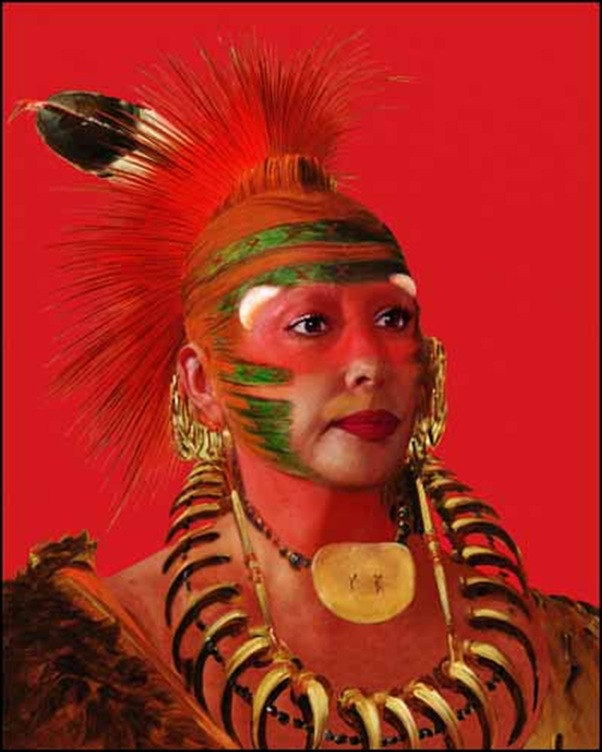 Orlan,Self hybridation indiennes-américaines