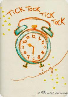 Time Scrapbook Paper SKW001