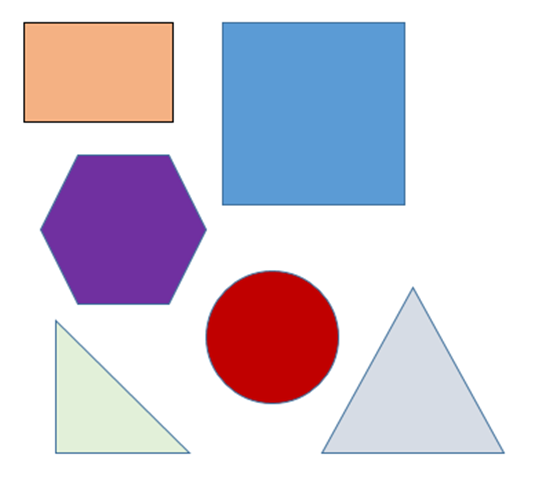 shapes all