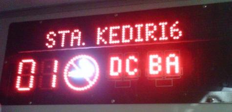 KA Majapahit : Display Stasiun