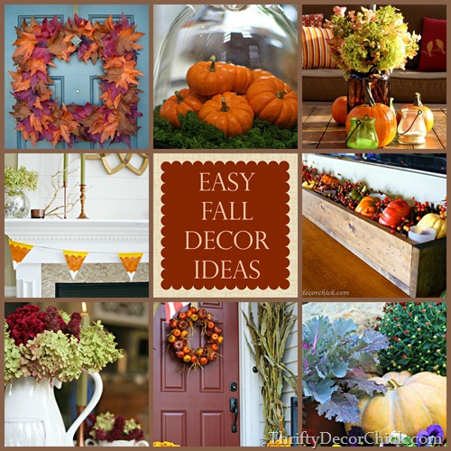 easy fall decor projects