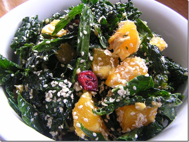 kale and ginger salad