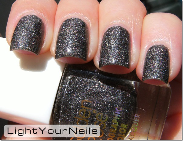 Golden Rose holographic color 119