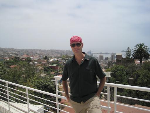 The view over Valpo from Pablo Neruda's house, La Sebastiana.