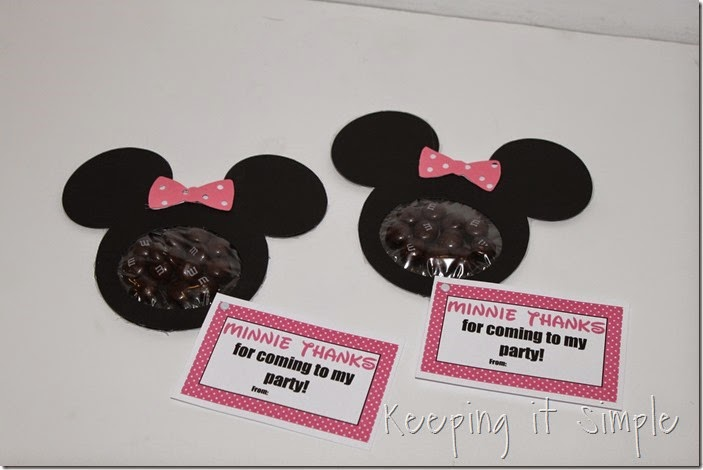Minnie Mouse Birthday Party Favor with Printable (1)