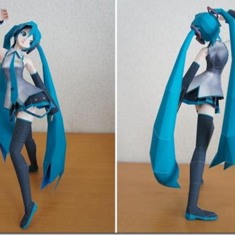 Hatsune Miku Paper Doll