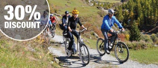 Велосипедный тур через Валийский Альпы