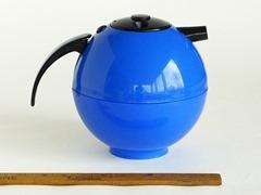 Zojirushi vacuum carafe, 1 liter capacity, blue