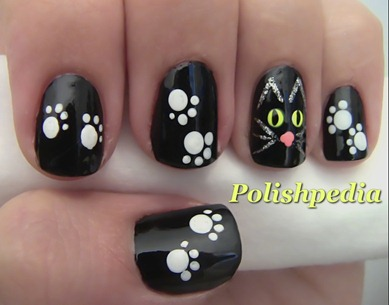 black-cat-nail-art-for-halloween