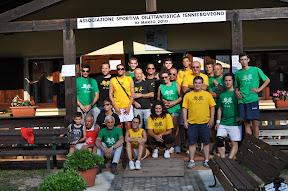 Gruppo di partecipanti all'avventura della 12 ore