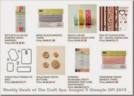 2015_01_21 Weekly Deals at The Craft Spa