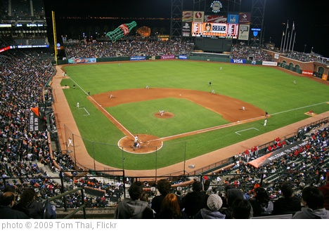 'AT&T Park' photo (c) 2009, Tom Thai - license: http://creativecommons.org/licenses/by/2.0/
