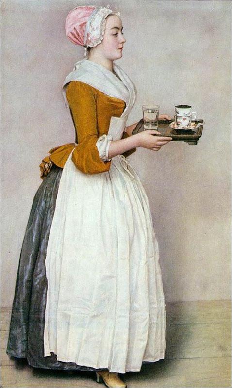 Jean Etienne Liotard, La belle chocolatière