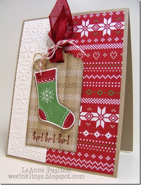 LeAnne Pugliese WeeInklings Nordic Christmas Great Greetings Stampin Up