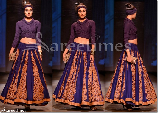 Shantanu_and_Nikhil_Blue_Lehenga
