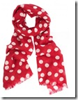 Ronit Zilkha Pure Cashmere Spot Print Scarf