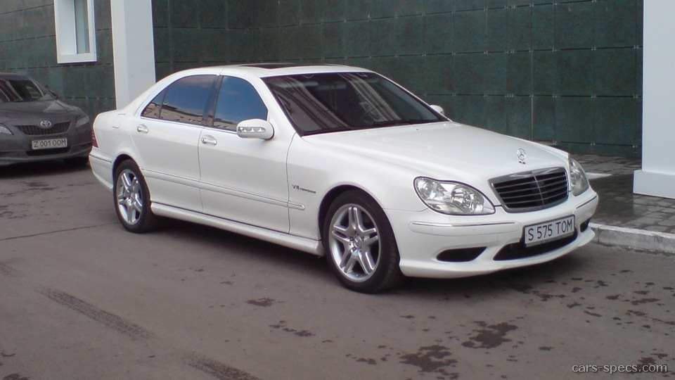 2001 mercedes benz s class s55 amg specifications for 2001 mercedes benz s55 amg