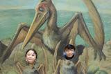 Eidan and Kai as baby dinosaurs