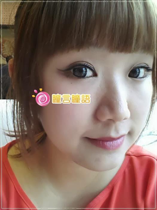 韓國GEO隱形眼鏡-Bella貝拉灰8