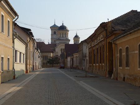 Orase traditionale: ulite cetate Alba Iulia