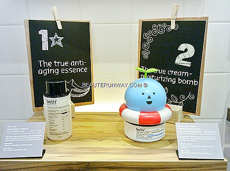 belif korean anti-aging essence true cream moisturizing bomb skincare Singapore Wisma Orchard Mrt