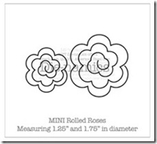 Mini Rolled Roses Die-namicsSM