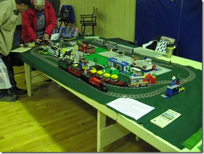 IMG_4700 Peninsula Model Railroad Club Lego Layout at LK&R Swap Meet in Rainier, Oregon on December 9, 2006