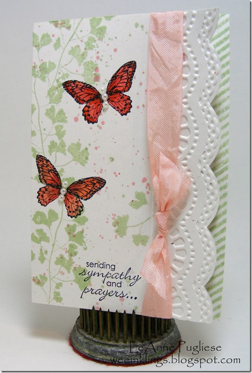 LeAnne Pugliese WeeInklings Paper Players 159 Papaya Collage CAS Gorgeous Grunge Petite Pairs