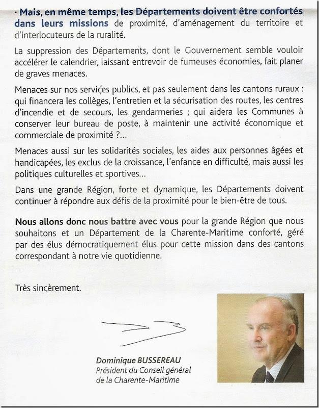 Conseil général 20001