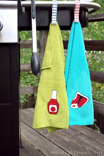 BBQ Hanging Towels - The Silly Pearl