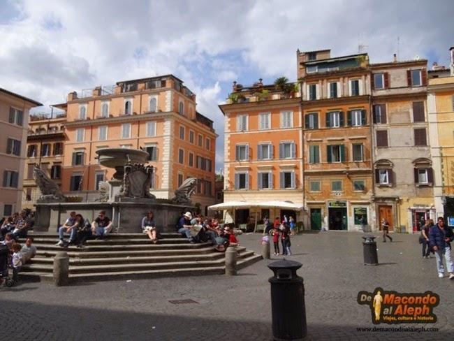 [Italia] El barrio del Trastevere, en Roma