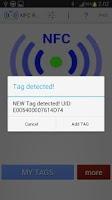 Screenshot of NFC ReTag PRO