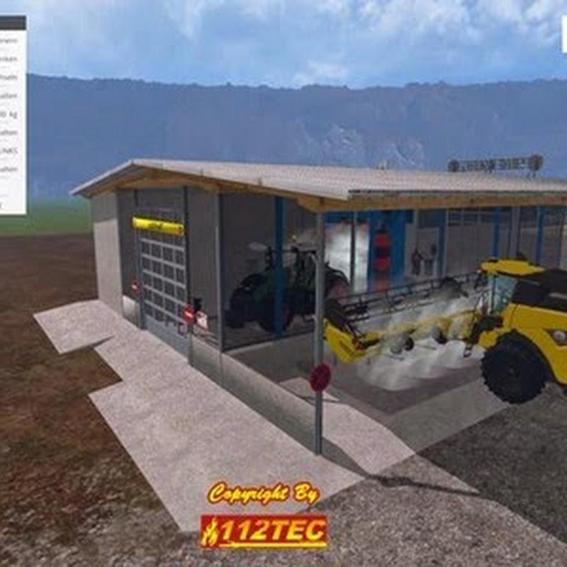 Farming simulator 2015 - Car wash v 1.0