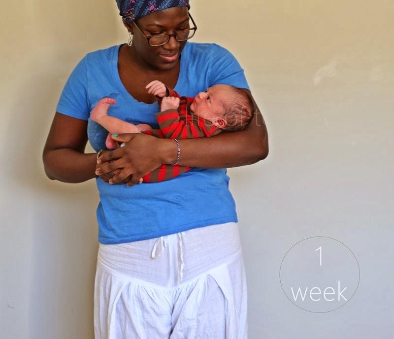 baby T. week 1