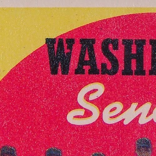 1959 Topps 397 Washington Senators Team and Checklist variation name