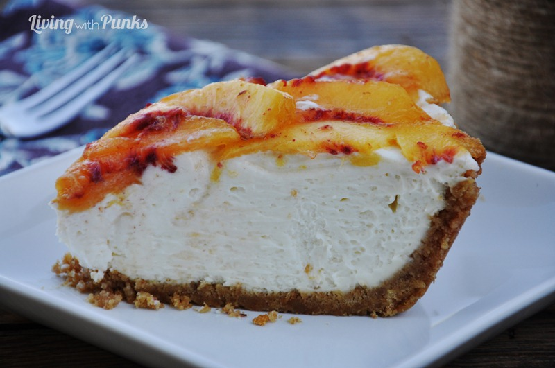 A slice of Heaven ~ Peaches 'n Cream Pie