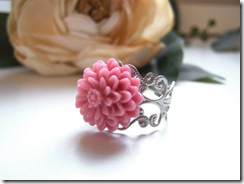 Pink Gemma Ring