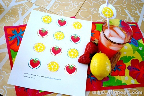 StrawberryLemonadeStrawPrintable1