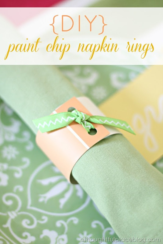 paintchip napking rings